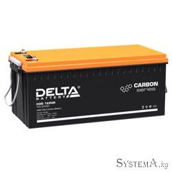 Аккумулятор Delta CGD12200 12V 200Ah (Carbon, UPS/Solar series)