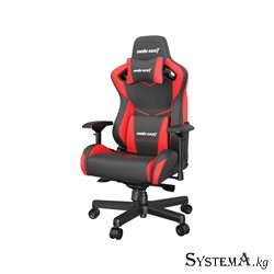 Gaming Chair AD12XL-07-BR-P AndaSeat Kaiser II BLACK&RED 4D Armrest 75mm wheels PVC-Leather