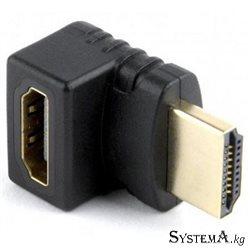 Адаптер HDMI M - F (угловой Г-образный)