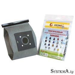 Многоразовый мешок пылесборник для пылесоса SAMSUNG MX-04 1 шт OZONE (тип VP-95)
