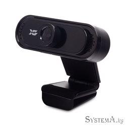 Веб-Камера X-Game XW-79, USB 2.0, CMOS, 1280x720, 1.0Mpx, Микрофон, Крепление: зажим, Кабель 1.2 метра, Черный
