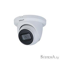 HDCVI Camera DAHUA DH-HAC-HDW1500TLMQP-A-S3A(2.8mm) купольная,уличн 5MP,IR 30M,MIC,IP67,MET+PLAST