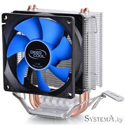 Кулер DEEPCOOL ICEEDGE MINI FS LGA775/1155/1156/1150/AMD 80x25mm, 2200rpm