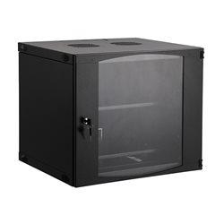 Шкаф настенный SHIP EW5406.100, EW серия, 19'' 6U, 540*450*327 мм, Ш*Г*В, IP20, Чёрный