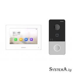 Видеодомофон HIWATCH DS-D100IKWF  IP WiFi PoE