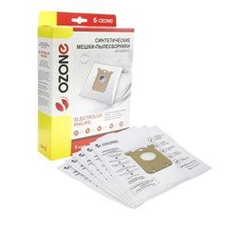 Мешки пылесборники для пылесоса ELECTROLUX M-02  5 шт OZONE (тип  S-Bag)