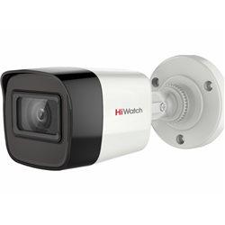 HD-TVI камера буллет уличная HiWatch DS-T500A (5MP/2.8mm/2592х1944/0.01lux/EXIR 20m/IP67/4in1/AHD/CVI/CVBS/MIC)