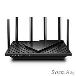 Роутер Wi-Fi TP-LINK Archer AX73 AX5400 Dual-Band Wi-Fi 6, 4804Mb/s 5GHz+574Mb/s 2.4GHz, 4xLAN 1Gb/s, 6 антенн, USB 3.0, IPTV, M