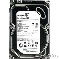 Seagate 4TB 5900rpm 64MB Surveillance ST4000VX000 SATAII/SATAIII