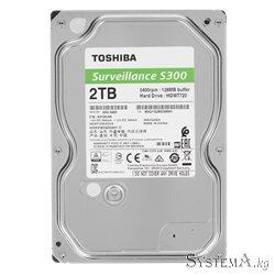 Toshiba 2TB 5400rpm 128MB S300 HDWT720UZSVA SATA3