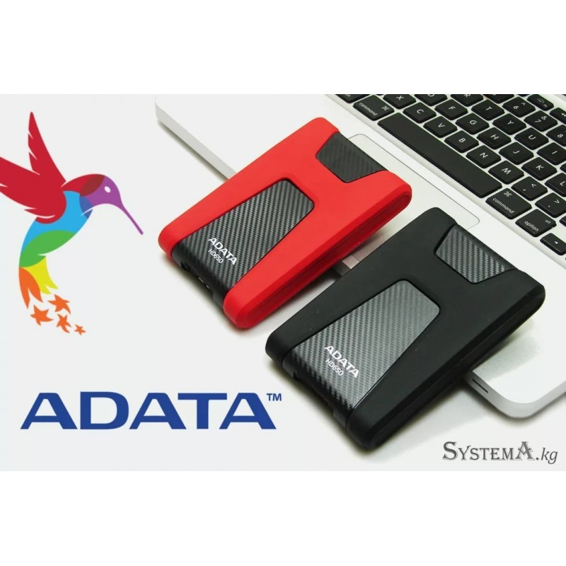 ADATA HD650 Black/Red