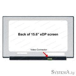 "Матрица 15,6"" Led 30 pin SLIM Small conector Full HD без ушек"