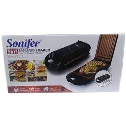Сэндвичница Sonifer SF-6021 5в1 800W
