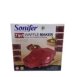 Вафельница Sonifer SF-6122,1000W 7в1 Венские вафли, тонкие вафли, печенье орешки, пончики, кексы