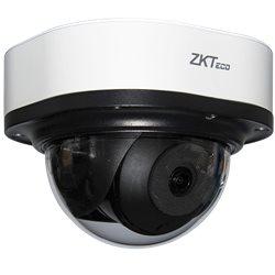 "Видеокамера купольная ZKTECO DL-858M28B 1/1.8"" STARVIS CMOS, 8MP@15fps H.264/H.265 Smart IR IR Range 20-30m Starlight/120dB WDR"