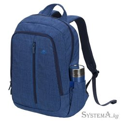 "RivaCase 7560 Canvas Blue 15.6"" Backpack АКЦИЯ!!!"