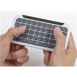 Keyboard Mini LuxePad Mini lightweight keyboard for iPhone or iPad,Bluetooth 3.0