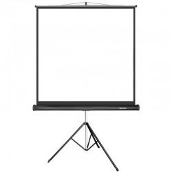 Экран для проекторов Deluxe DLS-T180xW, На штативе, 180x180, Matt white, Белый