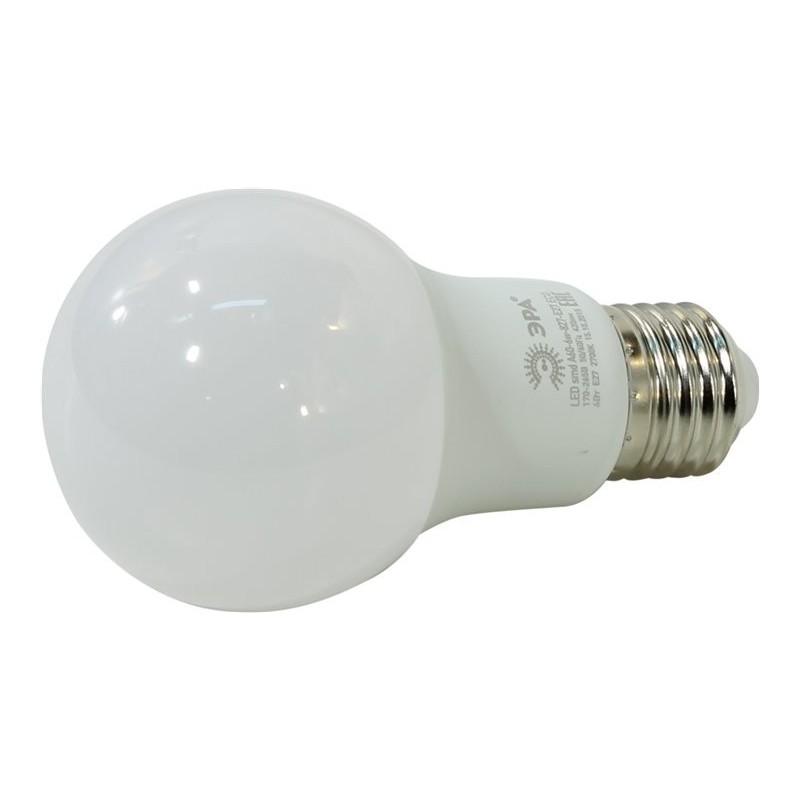 Лампа ЭРА LED smd A60-6w-827-E27 ECO. (6Вт.420лм.2700К) 1 год гарантии