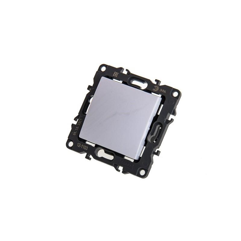 Выключатель ЭРА 12-1101-01 10АХ-250В белый