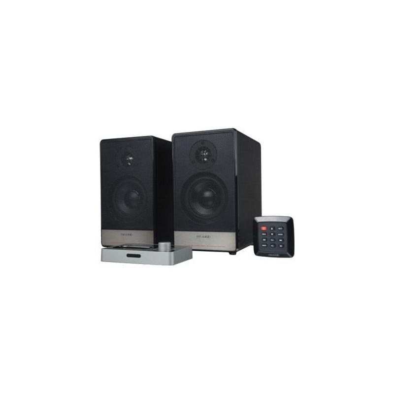 Microlab Speakers iH-11 (iDock130 iPhone/iPod+H11) BLACK 56W