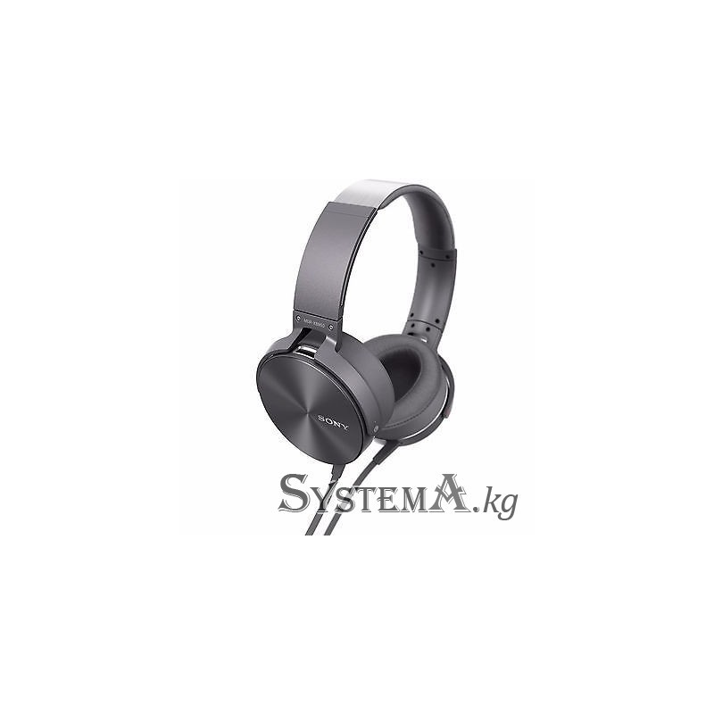 накладные наушники Sony Extra Bass Mdr Xb950ap серый цвет где