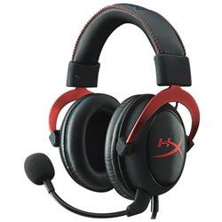 Наушники с микрофоном KINGSTON KHX-HSCP-RD HYPERX Cloud II ProGame 7.1 jack 3.5 mm RED