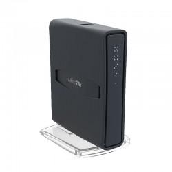 Роутер MikroTik hAP ac lite tower RB952Ui-5ac2nD-TC, Wi-Fi 2,4 ГГц + 5 ГГц, 802.11 b/g/n/ac, 5 WAN/LAN 100 Мб, PoE, USB