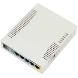 Роутер MikroTik SOHO AP RB951Ui-2HnD, Wi-Fi 2,4 ГГц, 802.11 b/g/n, 5 WAN/LAN 100 Мб, PoE, USB