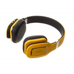Наушники HARPER НВ-402 Yellow  (Bluetooth4,0 + кабель, микрофон)