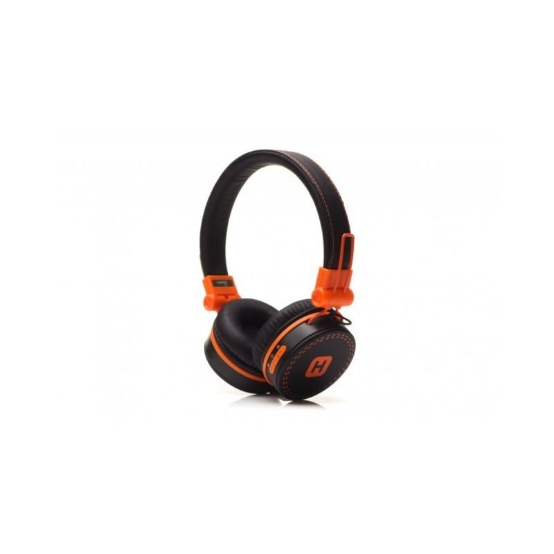 Наушники HARPER KIDS НВ-202 orange Bluetooth наушники до 10 м, микрофон, регулировка громкости)