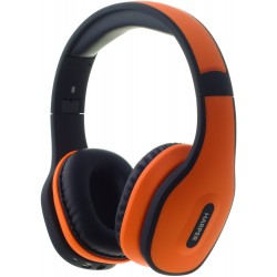 Наушники HARPER НВ-401 Orange (Bluetooth4,0 + кабель, микрофон,)