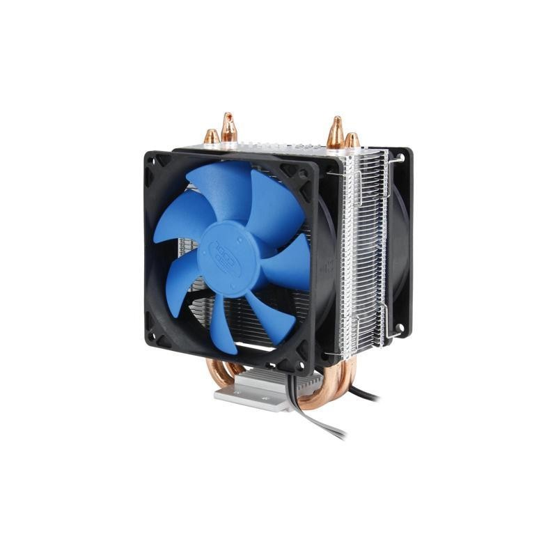 CPU cooler DEEPCOOL ICE BLADE 200M LGA1155/1366/775/AMD 2x92x25mm, 900-2200rpm, 4 Heatpipes