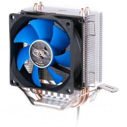 CPU cooler DEEPCOOL ICEEDGE MINI FS V2.0 LGA775/1156/1155/1150/AMD/AM2/AM3 80x25mm,2200rpm,2 HP