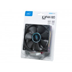 Cooler for PSU/CASE DEEPCOOL XFAN120 BLACK 120x120x25 mm