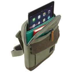 "CASE LOGIC LODO 10"" VERTICAL BAG,PETROL GREEN"