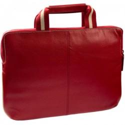 """Сумка для ноутбука 14"""" Krusell Gaia slim (71165) (Red/Cream)"""