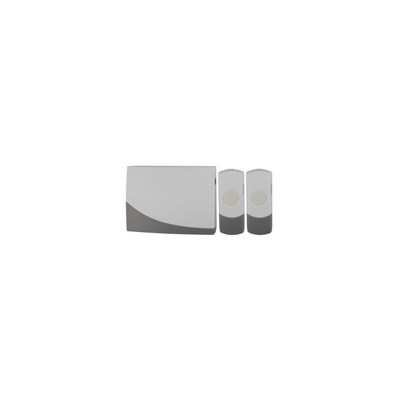 Звонок  ЭРА C91-2 беспроводной, две кнопки