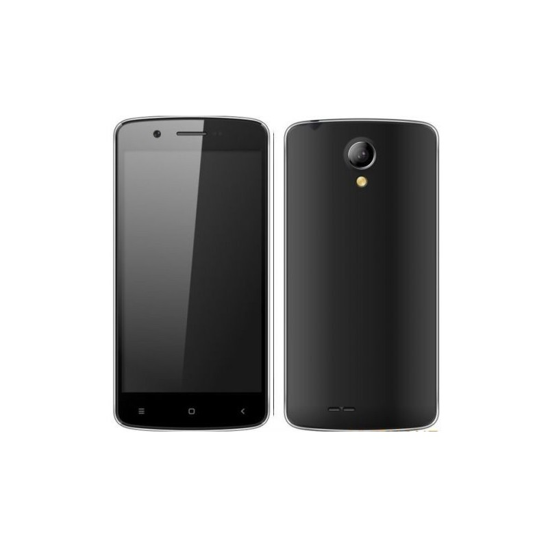 "Смартфон Bravis Next Black (4.5"" IPS (854 x 480), Quad-Core (1.3Ghz), 512MB, 4GB, Wi-Fi, Dual SIM, BT, Front 0.3Mp, Rear 5Mp, An"