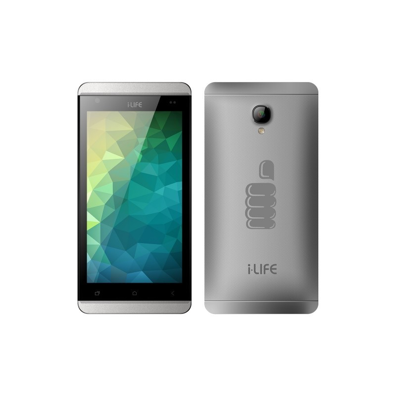 "Смартфон iLife itell S500S Silver (5"" (854x480), Quad-Core (1.2Ghz), 512MB, 4GB, Dual SIM, BT, Wi-Fi, Front 0.3Mp, Rear 8.0Mp, A"