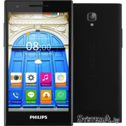 "Смартфон Philips S396 Black (5.0"" IPS (1280x720), Quad-Core (1.0Ghz), 1GB, 8GB, Wi-Fi, Dual microSIM, LTE, BT, Front 8Mp, Rear 8"