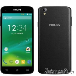 "Смартфон Philips Xenium i908 Black (5.0"" IPS (1920x1080), Octa-Core (1.7Ghz), 2GB, 16GB, Wi-Fi, Dual SIM, BT, Front 2Mp, Rear 13"