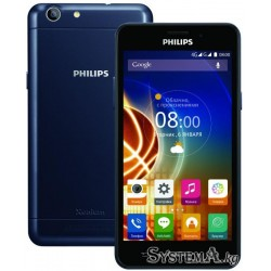 "Смартфон Philips Xenium V526 Blue (5.0"" IPS (1280x720), Quad-Core (1.3Ghz), 1GB, 8GB, Wi-Fi, Dual SIM, LTE, BT, Front 2Mp, Rear"