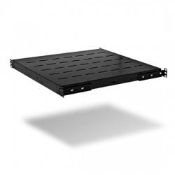 Полка стационарная SHIP 700160100 Универсальная 440*350*44 мм (Для 600 мм напольных шкафов) Чёрный