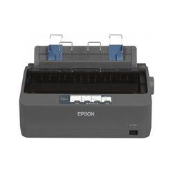 Принтер Epson LX-350 (ударный 9-игольчатый принтер, 357 знаков в секунду, LPT, COM, USB)