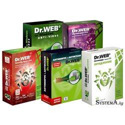 DrWEB Security Space 2пк 1год продление