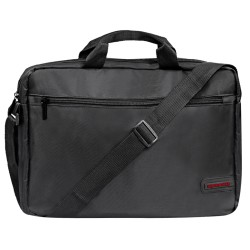 """Сумка для ноутбука Promate Gear-MB Lightweight Messenger Bag with Front Storage Zipper for Laptops up to 15.6"""""""