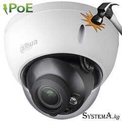 IP camera DAHUA DH-IPC-HDBW2231RP-ZS(2.7-13.5mm) купольн,антиванд 2MP,IR 30M,MicroSD,motoriz,STARLIG