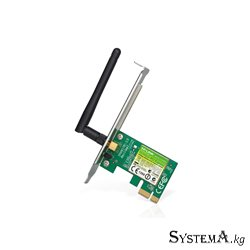 Адаптер Wi-Fi PCI Express TP-LINK TL-WN781ND 150 Мбит/с 2 дБи