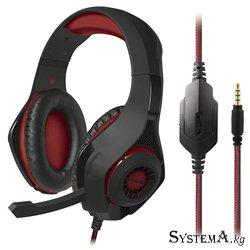 Наушники SVEN AP-G886MV Gaming, черный-красные